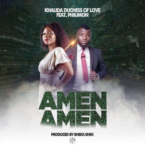 khalida-amen-amen-ft-philimon-cover